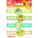 Bracelets-Lion King-4pk