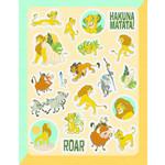 Stickers-The Lion King-80pcs
