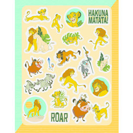 Stickers-The Lion King-80pcs