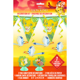 Decoration Kit - The lion King - 7pkg