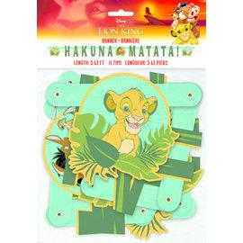 Banner-Lion King-Hakuna Matata-5.63ft-1.71m