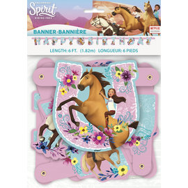 Banner-Spirit Riding Free-6ft-1.82m