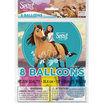 "Balloons-Latex-Spirit Riding Free-8pkg-12"""