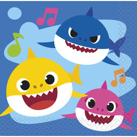 Beverage Napkins-Baby Shark