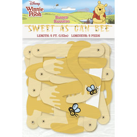 Banner-Winnie The Pooh-Sweet as Can Bee-5ft