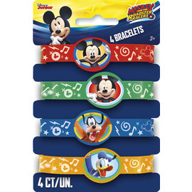 Bracelets-Mickey and the Roadster Racers-4pkg