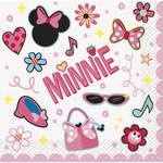 Beverage Napkins-Minnie Mouse-16pk-2ply