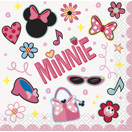 Beverage Napkins-Minnie Mouse-16pk-2ply