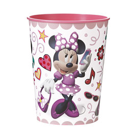 Cups-Plastic-Minnie Mouse-16oz