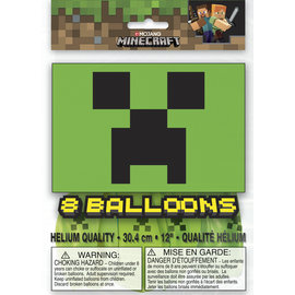 Balloons-Latex-Minecraft-8pk