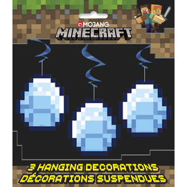 Hanging Decorations-Minecraft-3pk