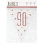 Pennant Banner-90th Birthday