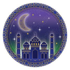 Paper Plates-Eid Mubarak