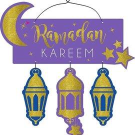 Sign-Ramadan Kareem-Eid Mubarak