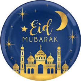 Platter-Eid Mubarak
