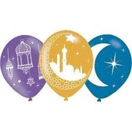 Balloons - Helium Quality - Eid Mubarak