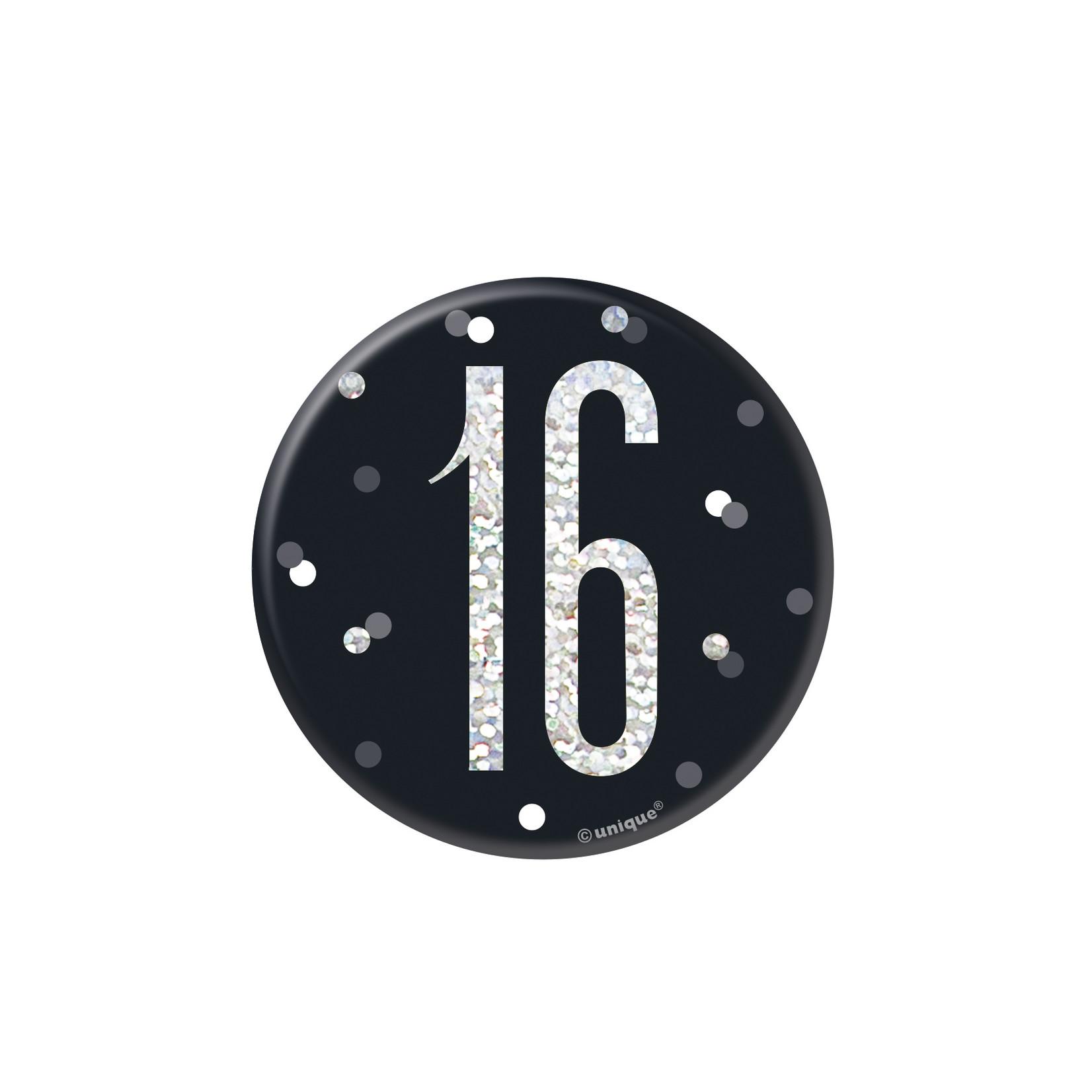 Badge- 16th Birthday