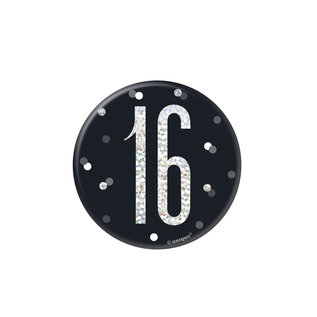 Badge- 16th Birthday