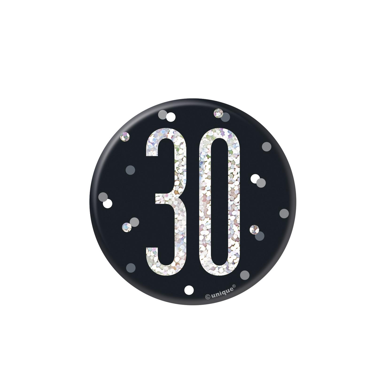 Badge- 30th Birthday
