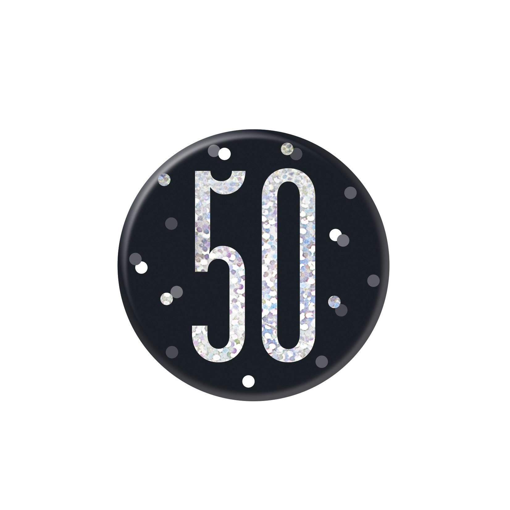 Badge- 50th Birthday
