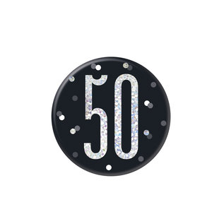 Badge- 50th Birthday