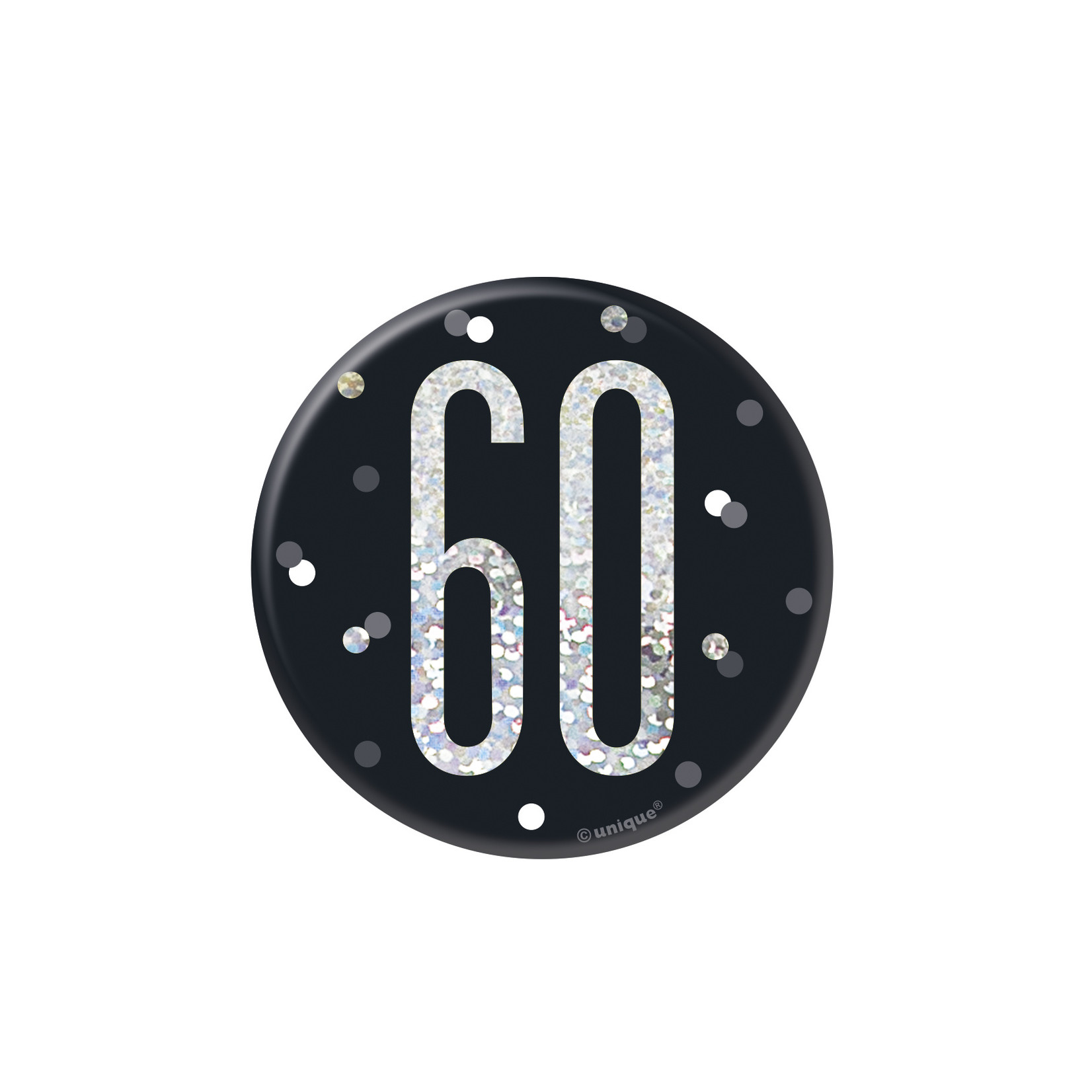 Badge- 60th Birthday