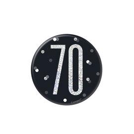 Badge- 70th Birthday