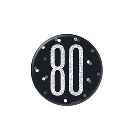 Badge- 80th Birthday