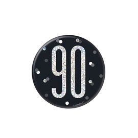Badge- 90th Birthday