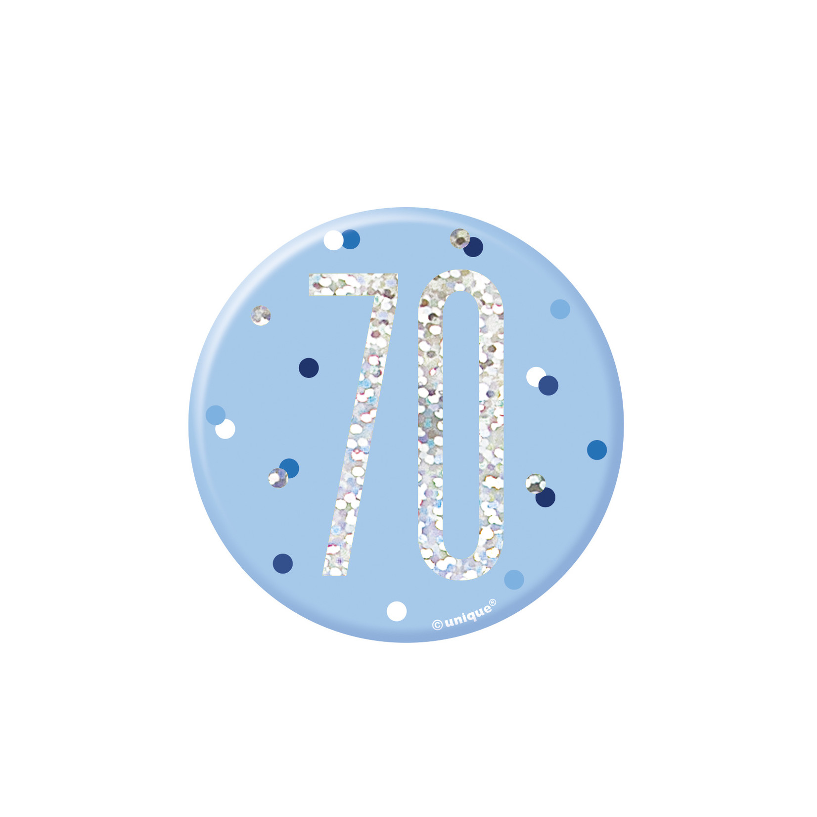 Badge-70th Birthday