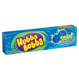 Hubba Bubba-Sour Blue Raspberry-5pk