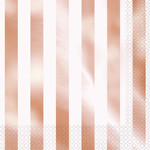 Luncheon Napkins-Rose Gold