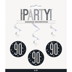 Hanging Decorations-90th Birthday