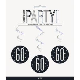Hanging Decorations-60th Birthday