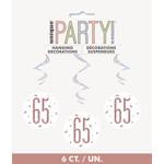 Hanging Decorations-65th Birthday