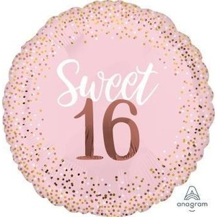 Foil Balloon-Supershape-16th Birthday