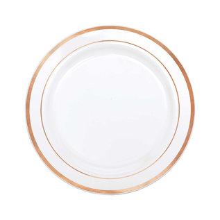 Premium Luncheon Plates- Rose Gold