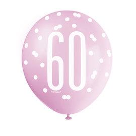 Latex Balloons-60th Birthday