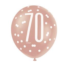 Balloons-Latex-70th Birthday