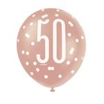 Balloons-Latex-50th Birthday