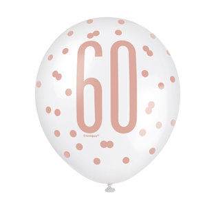 Balloons-Latex-60th Birthday