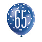 Latex Balloons- 65th Birthday