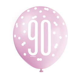 Latex Balloons- 90th Birthday