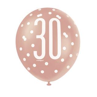 Latex Balloons- 30th Birthday