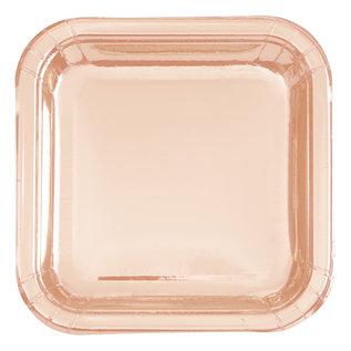 Plates - Rose Gold