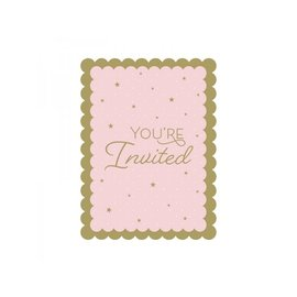 Invitations-Stylish Swan Birthday