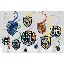 Swirl Decoration - Harry Potter - 12pk