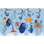 Swirl Decorations-Finding Dory-7''-12pk