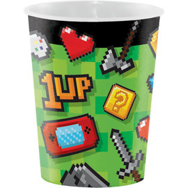 Cups- Gaming Party- Plastic- 16oz