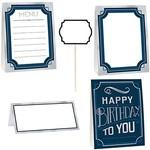 Buffet Decorating Kit- Happy Birthday Man- 12pcs